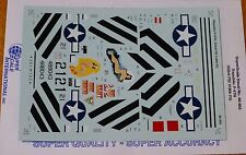Microscale Decal 1 48 Scale #ms48-956 / Republic P-47n 333rd Fs/ 318th FG