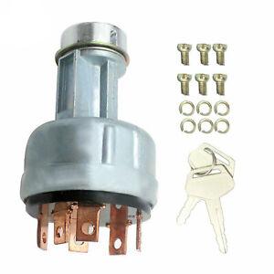 Ignition Switch CH11696 W/Key For John Deere 650 850 950 1050 1450 785900HC 665