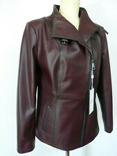 NEU!!   Damen Lederjacke aus Lamm Nappa Echt Leder Jacke Gr 46 barolo SABA