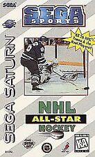 Sega Saturn Video Game NHL All-Star Hockey