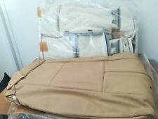 Kit sedili base rivestimento in PELLE beige Dakota -ORIGINALE- BMW X3 E83