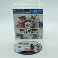 Tiger Woods PGA Tour 11 Sony PlayStation 3 PS3 Golf Video Game No Manual