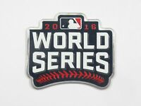 OFFICIAL 2016 MLB Houston Cubs vs Indians World Series Bound Plastic Patch