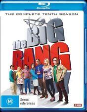 The Big Bang Theory Complete Tenth 10 Series Season Blu-Ray Region B NEW