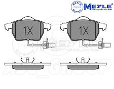 Meyle Brake Pad Set, Front Axle With anti-squeak plate 025 230 1820/W