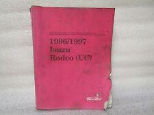 1996/1997 ISUZU DRIVEABILITY AND EMISSIONS MANUAL RODEO (UC)