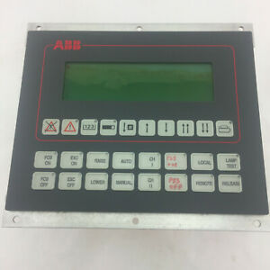 ABB HIEE200130R1 AF C094 AE V1 OPERATOR INTERFACE PANEL D532174