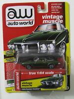 Auto World Vintage Muscle 1:64 scale ~ 1969 Pontiac Firebird ~ Green