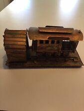 Vintage Berkley Designs Copper Train Music Box{Train Moves Back And Forth}