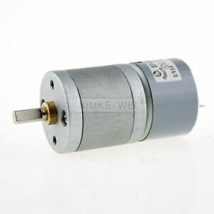 6V DC 200RPM High Torque Electric Gear Box Motor