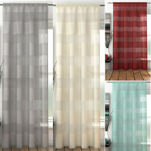Oakland Voile Panel. Choice of Colours & Sizes