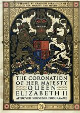 THE CORONATION OF QUEEN ELIZABETH II - APPROVED SOUVENIR PROGRAMME, 1953