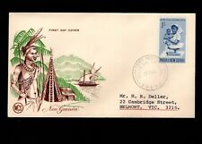 Papua & New Guinea Port Moresby 1st Day 1964 Various Local Medicine 1/ Cover 5l