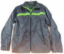 Glacier's Edge SKI JACKET Womens Medium Wind & Water Resistant Packable Gray
