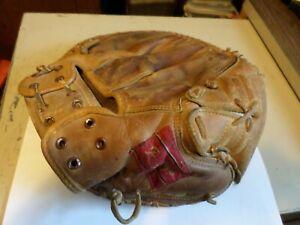 Vintage Hobie Landrith Rawlings DB25 Baseball Catcher Glove Left Hand Mitt 1950s