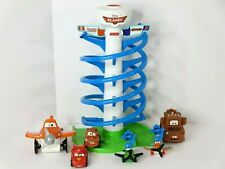 Fisher Price Disney Pixar Planes Spiral Air Race Track Original Planes & Extras