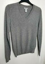 Gap 100% Pure Cashmere Para Hombre Suéter XS Gris #20/02