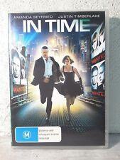 In Time (DVD) Region 4 PAL - Justin Timberlake, Amanda Seyfried