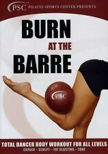 Burn at the Barre: Total Dancer Body Workout for All Le (2012, REGION 0 DVD New)