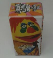 The World Of Sid & Marty Krofft 1999 3 VHS Box Set H R Pufnstuf Bugaloos Sigmund