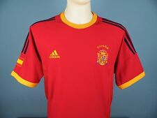 Authentic Spain 2002-04 Home Shirt Size Medium Adidas Red