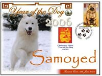SAMOYED CHINATOWN YEAR OF THE DOG STAMP COVER 4