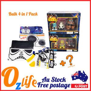 4pcs Star War Gift Set Pencil Case Socks Rebellion Nesting Doll Set