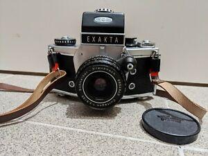 Exakta camera mit objektiv Schneider curtagon 1:2,8 35mm