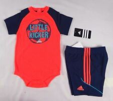 adidas baby boys set,  2-Piece Bodyshirt and shorts set szs 12,18,24 months