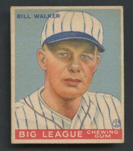 1933 Goudey #94 Bill Walker St. Louis Cardinals
