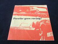 1972 Porsche Goes Racing 914 Brochure VW-Porsche Pacific Dealer Sales Catalog