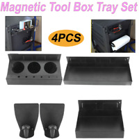 "6""/12"" Magnetic Tool Tray Spray & Paper Towel Roll Holder Tray For Store/Garage"