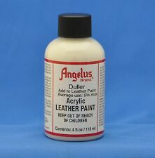 Angelus Acrylic Leather Paint Duller 4 oz.- For A Non-Glossy Finish- 4oz