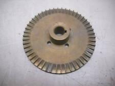 "Ej Brass Pump Gear 0023 3 1/2"" Bore 3 23/32"" O.D. New"