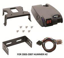 2003-2007 HUMMER H2 DRAWTITE ELECTRONIC TRAILER BRAKE CONTROL + WIRING + BRACKET