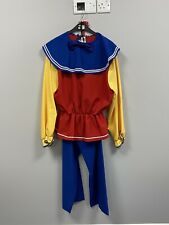 Ex Hire Fancy Dress Costumes- Colourful Clown/jester/gnome Outfit & Hat (52)XXL