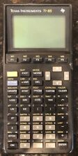 TESTED Excellent Used Texas Instruments TI-85 Graphing Calculator With Cover