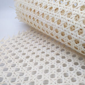 Light Cane Webbing Roll Rattan Fabric 50cm width x various lengths (50cm-2m) UK