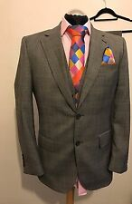 "Jeff Banks London 3PC Costume 38R TRS W32"" L30"""