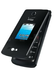 LG VN210 Terra - Black (Verizon) Basic Flip Cell Phone (Page Plus) w/ GSM Unlock