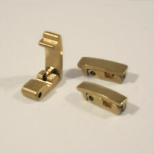 Fold Over Watch Bracelet Clasp Replacement Catch Gold Plated Steel Gate Fastener