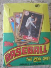 1987 Topps Wax Box New Unopen and STILL IN CELLO WRAP