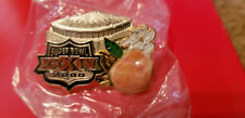 SUPER BOWL 34 NFL MEDIA PRESS PIN NEW IN PACKAGE MINT RAVENS GIANTS #83 SEALED