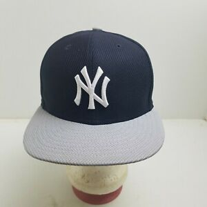 New York Yankees Hat Sz.7 1/8 New Era Diamond Era Collection Fitted N.O.S. New