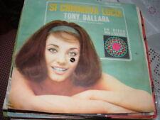 """TONY DALLARA """" SI CHIAMAVA LUCIA """" UN DISCO PER L'ESTATE'65  ITALY'65"""
