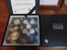 2013 US Mint Limited Edition Silver Proof set PERFECT!