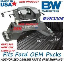 NEW 25K RVK3305 B&W Companion 5th Wheel RV Hitch for 2012 - 2019 FORD OEM PUCKS
