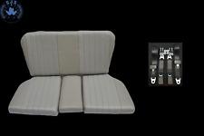 Rückbank Notsitze Kindersitze für Mercedes SL R/W107, grau+Sicherheitsgurte TOP