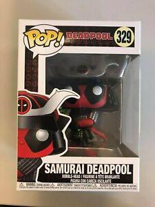 Samurai Deadpool Pop Vinyl 329 MARVEL FUNKO New in Box