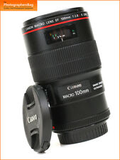 Canon EF 100mm F2.8L IS Macro USM Telephoto Lens for EOS SLRs + Free UK Postage